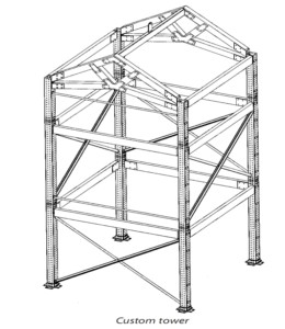 Adapt Metal Framework Tower